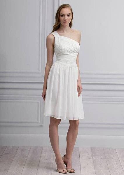 Vestido branco para madrinhas Coleção 2013 Monique Lhuillier Foto: Monique Lhuillier