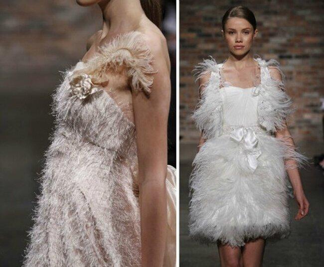 Exceptionnel Sélection de robes de mariée à plumes EW31