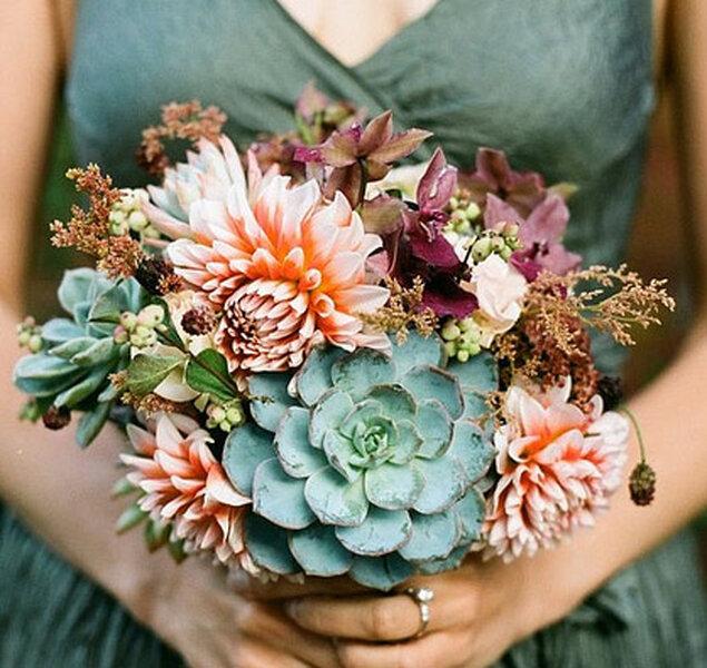 Ramos para novia florales.