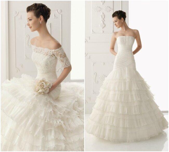 Suknia ślubna z kolekcji Alma Novia 2013