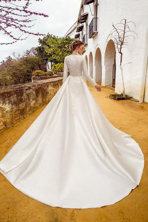 Vestido de novia en princesa