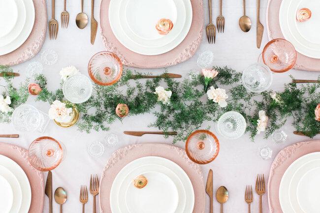 Idee per decorare i tavoli del tuo matrimonio prendi nota