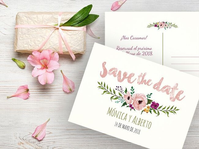 tarjetas de invitacion bodas