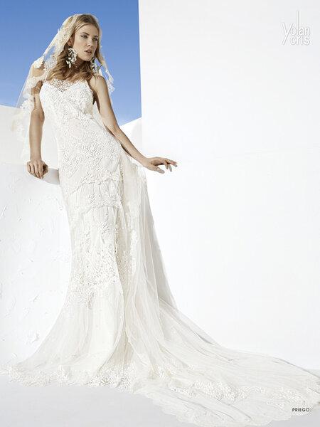 Suknia ślubna z kolekcji Boho Girl Yolan Cris 2014