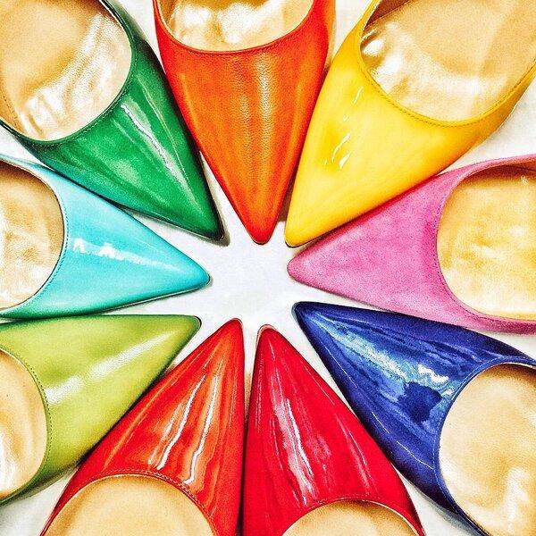 Zapatos de novia en colores para el 2016 el mejor estilo - Zapateria para ti ...