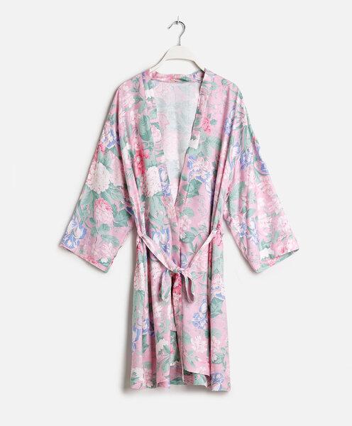 Morgenm ntel kimonos f r br ute 2016 vorbereitung f r - Oysho deutschland ...