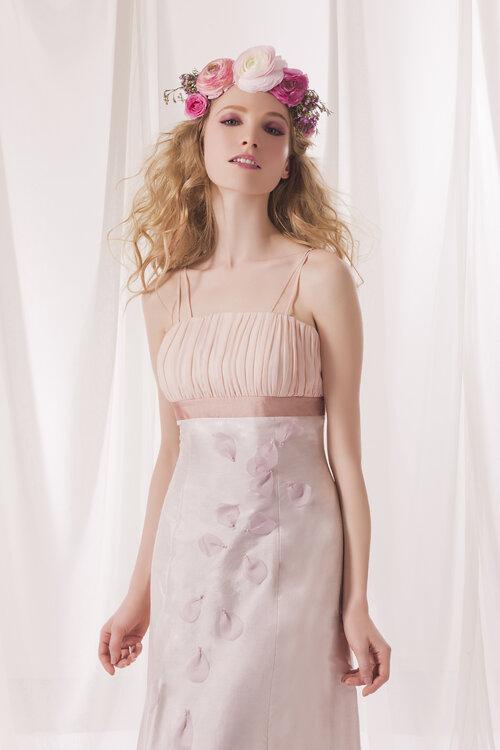 Vestidos de novia de escote cuadrado 2015: la perfección de la sencillez