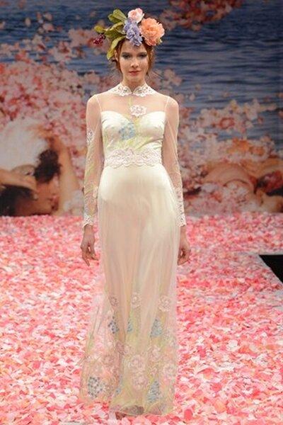 Claire Pettibone Fall 2013 wedding dress