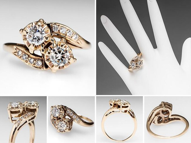 50 1 anelli di fidanzamento vintage una selezione dal