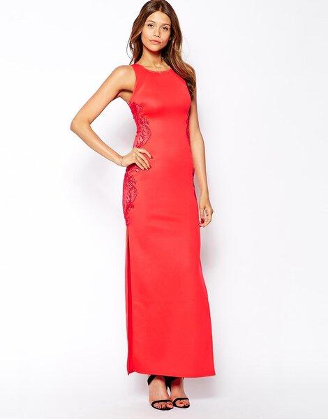 Czerwona suknia na wesele