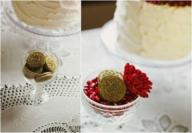 Złoto na ślubie, Foto: Zara Home