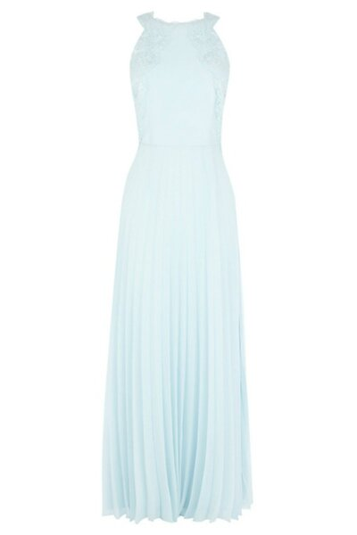 Błękitna suknia na poprawiny Foto: John Lewis