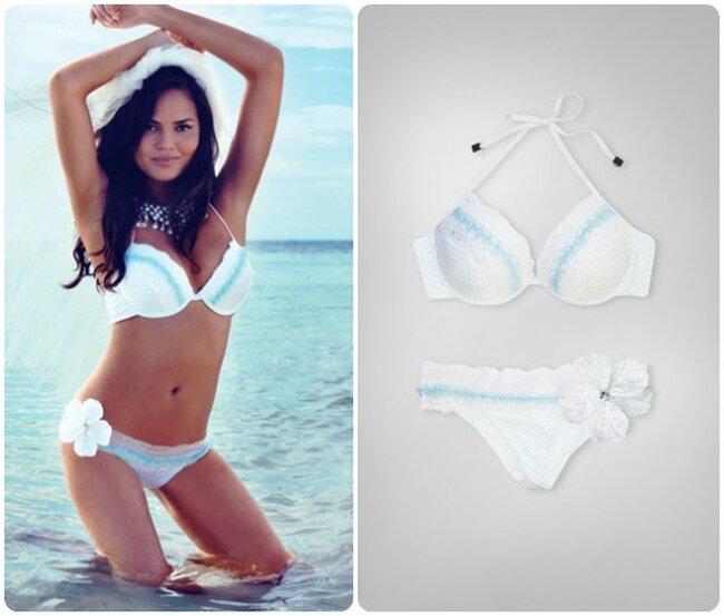 Beach Bunny Bride starring Chrissy Teigen, in vendita dal 3 settembre - via beachbunnyswimwear.com