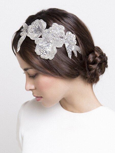 Nete a la moda de los peinados de novia con trenzas 2016 for Recogido mono bajo