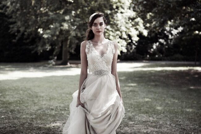 Credit: Catherine Deane 2015 Bridal Collection