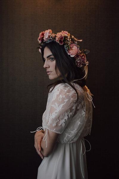 robes de mariée urbaines et modernes. Bohème Rock by David Purves