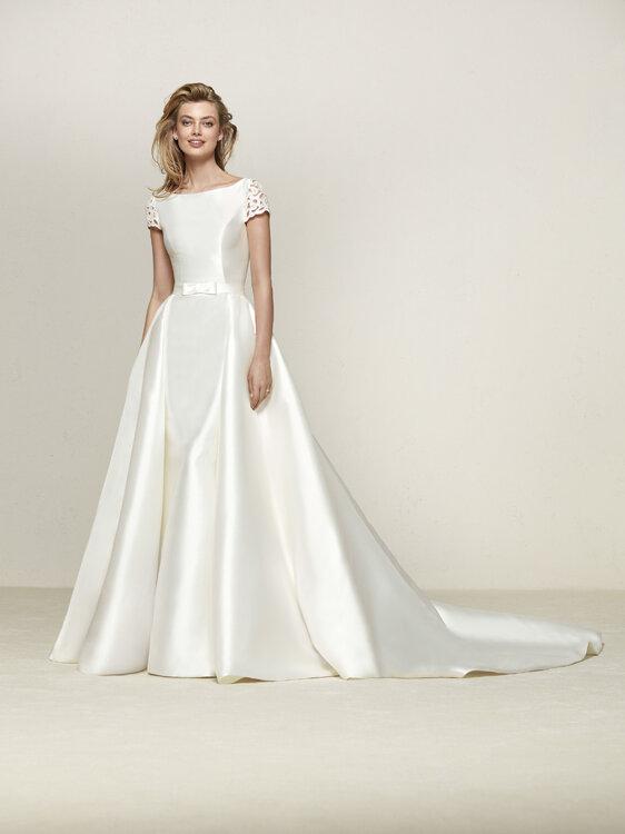 Vestidos de novia corte princesa diseos extraordinarios que no