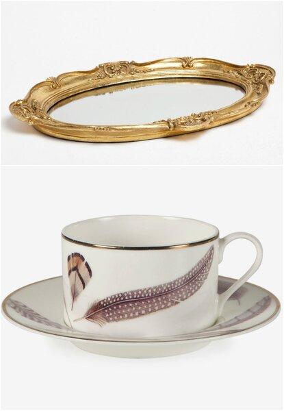 Ton brunch de mariage sera tout en or for Miroir zara home