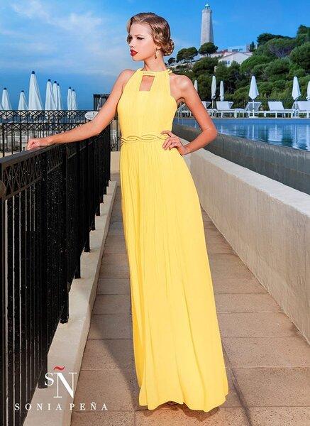 Fotos de vestidos de fiesta largos 2014