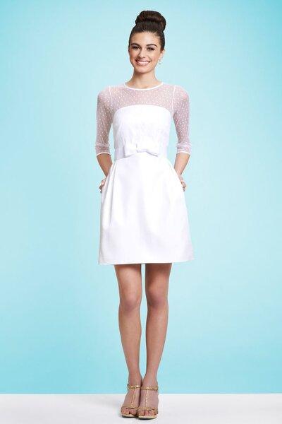 Krótka suknia ślubna z kolekcji Kirribilla