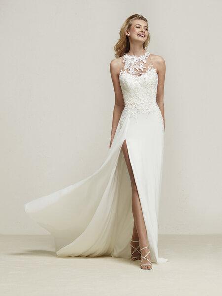 Vestidos de novia para mujeres delgadas. ¡Más de 60 diseños ...