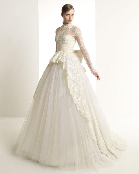 Suknia ślubna z kolekcji Zuhair Murad 2014