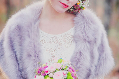 Boléro, étole, veste... Comment couvrir les épaules de la mariée?