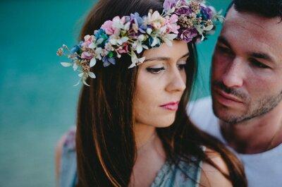 Una puesta en escena espectacular: la boda de Esperanza y Antonio