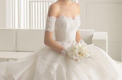 Num vestido de noiva, será o tecido importante?
