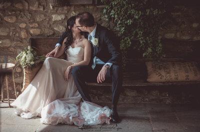 Poesia, atmosfere country e un volo di farfalle nel green wedding di Lara e Paolo
