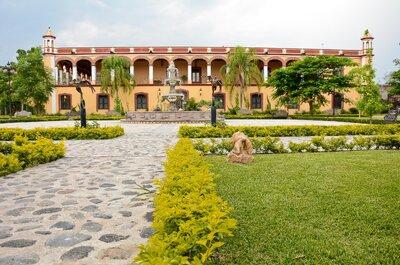 Enamórate de una de las haciendas más bonitas para tu boda en Puebla: la Hacienda Rijo