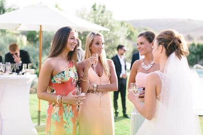 Cómo sobrevivir a una boda al aire libre en verano: kit básico para invitados
