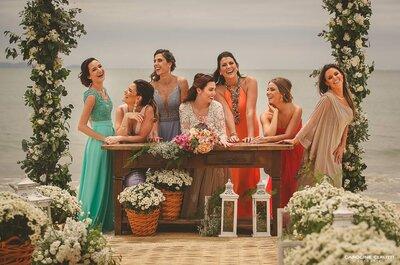 Como escolher a cor do vestido das madrinhas: conheça TODAS as possibilidades!
