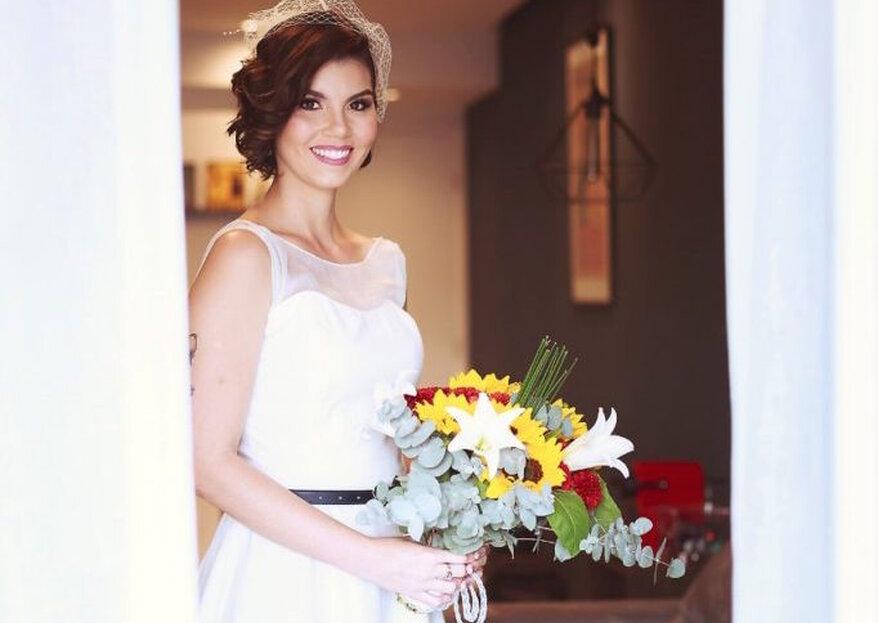 Malu Sanffer Atelier: tecidos diferenciados, estampas feitas à mão e bordados artesanais… vestidos elaborados para uma noiva cosmopolita e elegante!