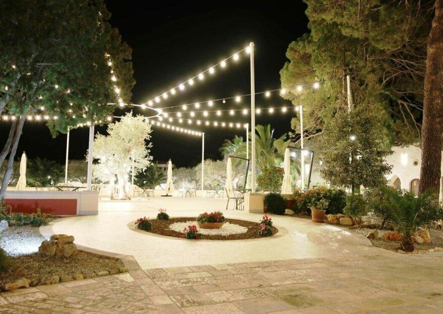 Tenuta Barberio, con la sua storia ricca di charme ed immersa nella verde vegetazione mediterranea, vi aspetta per celebrare le vostre nozze!