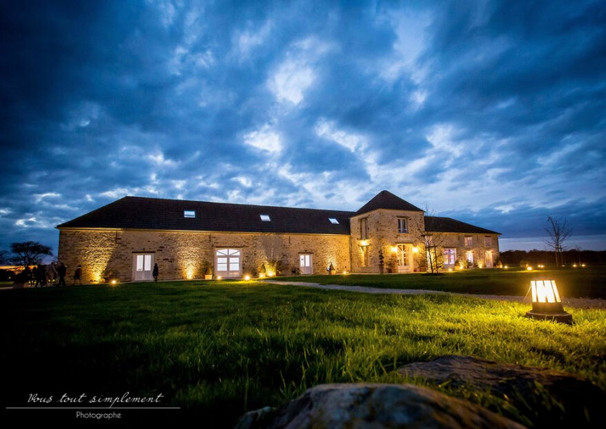 Optez pour un lieu insolite et nature pour la réception de votre mariage : Le Nomade Lodge