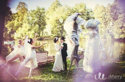 Лебединое озеро: сказочная свадьба Андрея и Анастасии