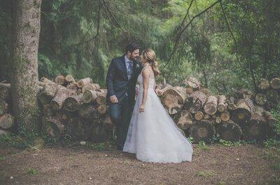 Una historia sencilla, romántica y muy chic: la boda de Alex y Nuria