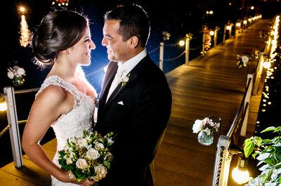 La boda de Alexandra y Alejandro, ¡amor puro!