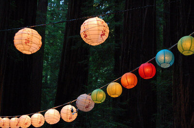 Tipps für die Hochzeitsdekoration - Dekorative Tischlampen selbst basteln