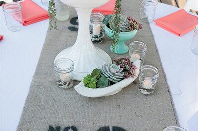 ¿Conoces las suculentas? Las plantas con las que querrás decorar tu boda