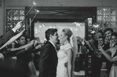 Cássia & Emerson: casamento clássico com noiva deslumbrante!