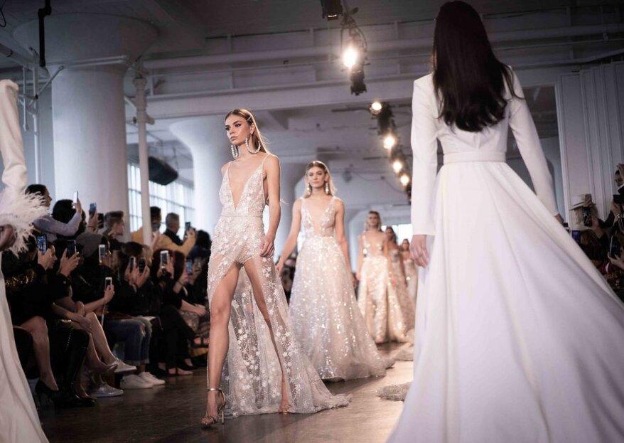 New York Bridal Fashion Week 2019: 5 tendenze di cui ti innamorerai