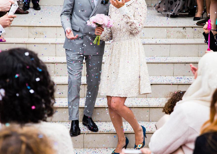 ¿Cómo organizar un matrimonio civil?