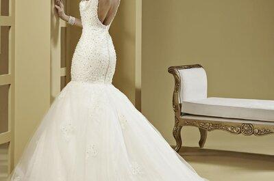 Suknia ślubna podkreślająca sylwetkę Panny Młodej. Wyglądaj sexy!
