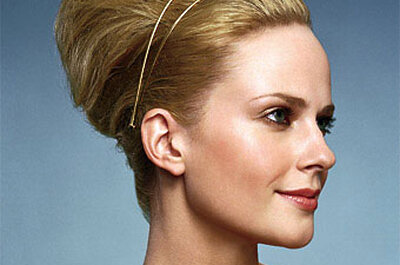 Beehive hairstyles for brides