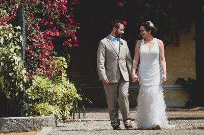 Grecia y Luis: Amigos, novios y esposos. ¡Una perfecta historia de amor!