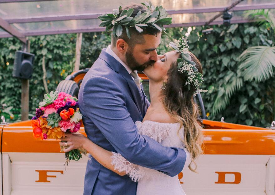 Fernanda e Daniel: casamento holístico, rodeado pela natureza e registrado pelas lentes da Sobre Nós Dois Fotografia!