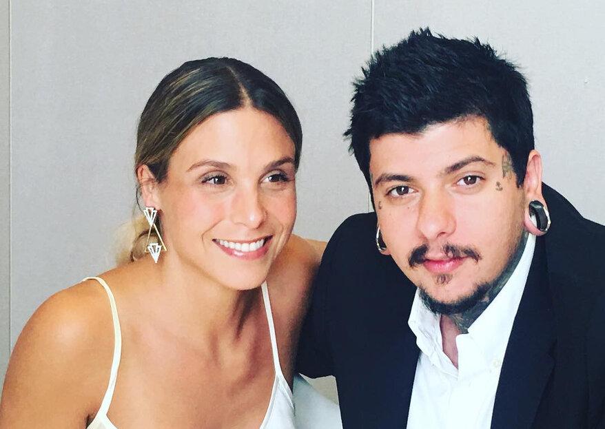 Agir & Catarina são já marido e mulher!