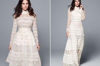 Vestidos de noiva eco-friendly da H&M chegam esta semana às lojas